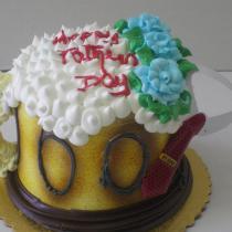 Bear Mug cake