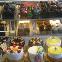 Assorted pastries and cakes